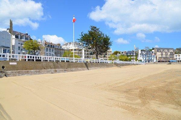 Environnement de la plage de Portrieux