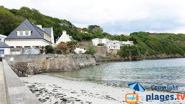 Villas en bord de plage à Brest
