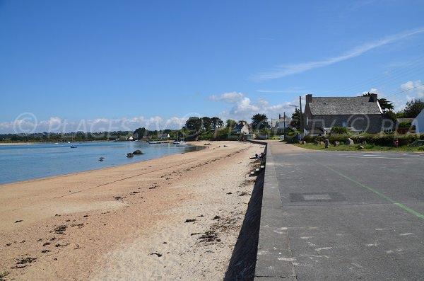 Parking of Sainte Anne beach - Tregastel