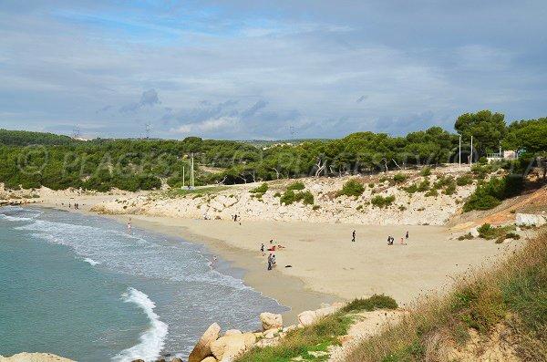 Photo of Sainte Croix beach in La Couronne in France