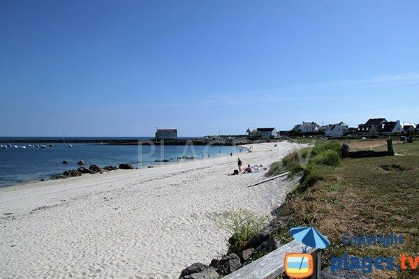 Belle plage à Esquibien - Sainte-Evette