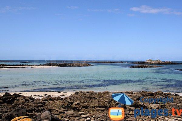 Ilots autour de la plage de Ste Marguerite - Landeda