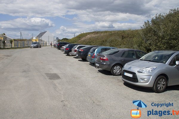 Parking of point of Gavres