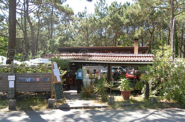 Restaurant near Salie beach in Pyla
