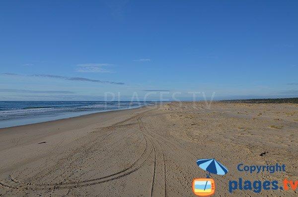 Photo de la plage de Salie Sud - Pilat sur Mer