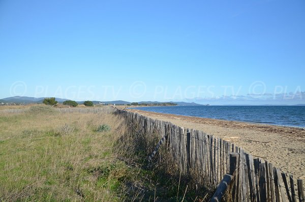 Photo of Salins beach in Hyeres - France