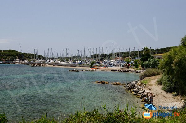Photo of Salins beach in Ile des Embiez - France