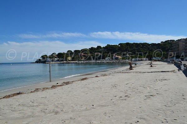 Salis beach in winter