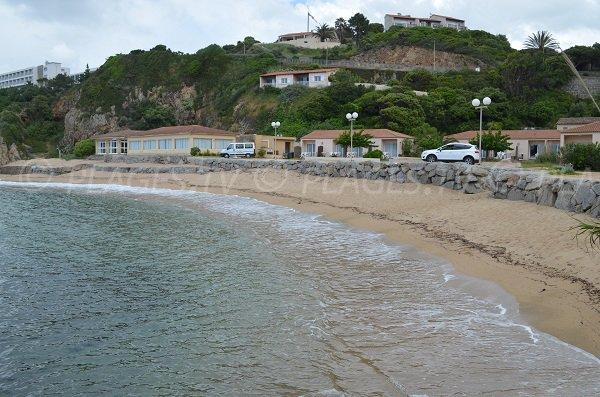 Plage de Sampiero à Propriano en Corse