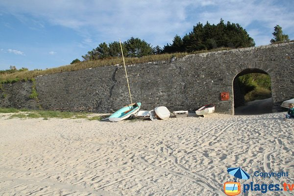 Sail on the Samzun beach - Belle-Ile