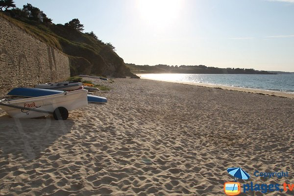 Photo of Samzun beach in Belle Ile en Mer - Locmaria