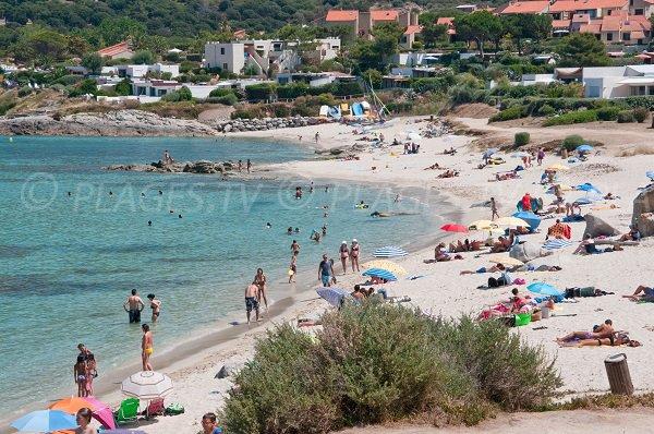 Photo de la plage de la marine de Sant Ambroggio à Lumio