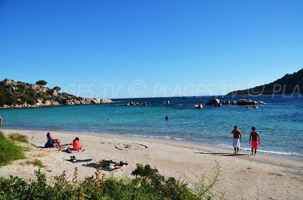 Hauts de Santa Giulia beach in Porto Vecchio - Corsica