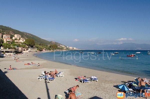Photo de la plage de Santa Lina - Ajaccio