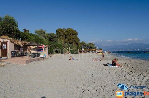 Plage de Santa Lina côté Ariadne - Ajaccio