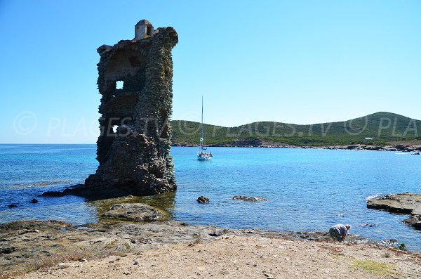 Santa Maria tower in Corsica