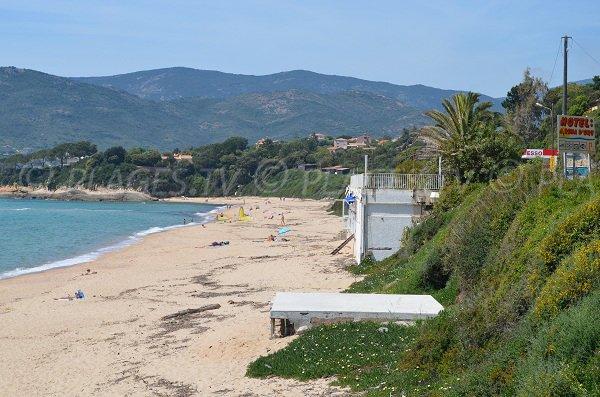 Santana beach in Corsica - Sagone