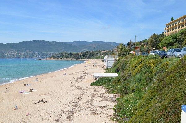 Santana beach in Sagone - Corsica