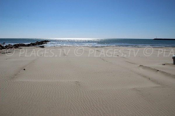 Sarrail Beach In Palavas Les Flots
