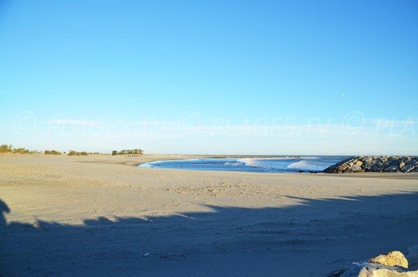 Wild beaches in Saintes Maries de la Mer