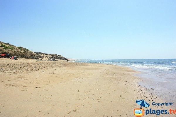 South of Sauveterre beach - Olonne sur Mer