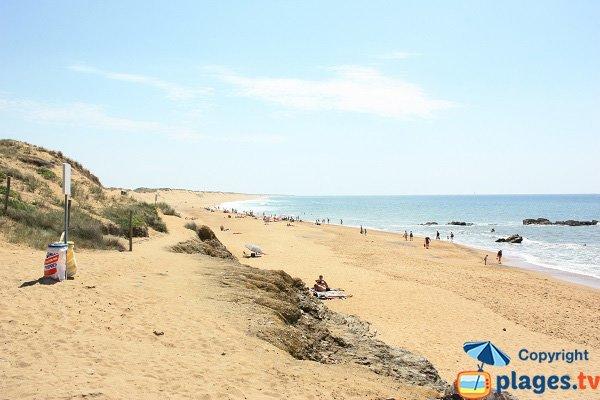 Photo of Pierres Noires beach in Olonne sur Mer in Vendee