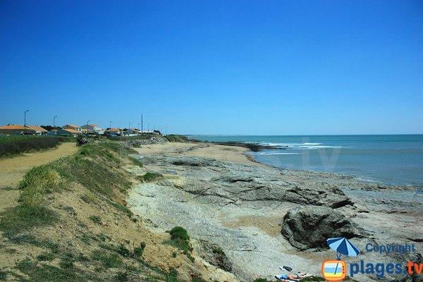 Photo de la plage de Sauzaie à Brétignolles sur Mer