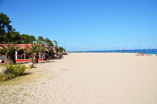 Photo de la plage de Scaffa Rossa en Corse