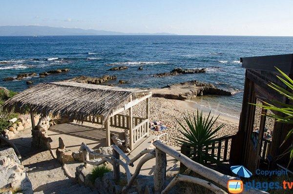 Accesso spiaggia Scudo - Corsica