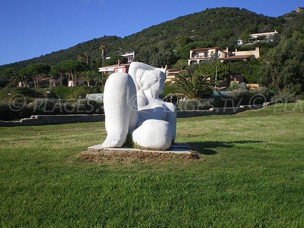 Statua spiaggia dello Scudo