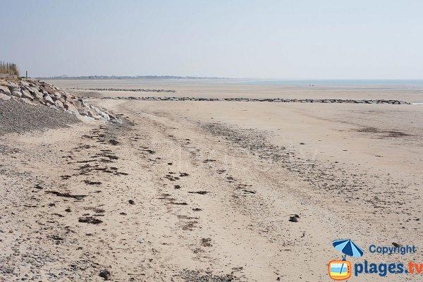Photo de la plage du Sémaphore de Portbail