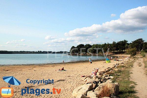 Plus belle plage dans le golfe du Morbihan - Baden