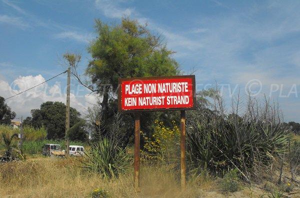 Plage Serra Piana - Plage non naturiste