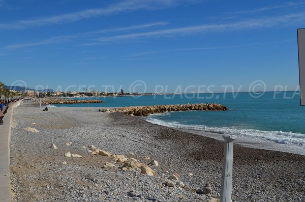 Photo of Serre beach in Cros de Cagnes