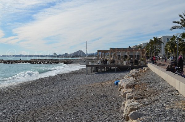 Private beach - Serre in Cagnes sur Mer