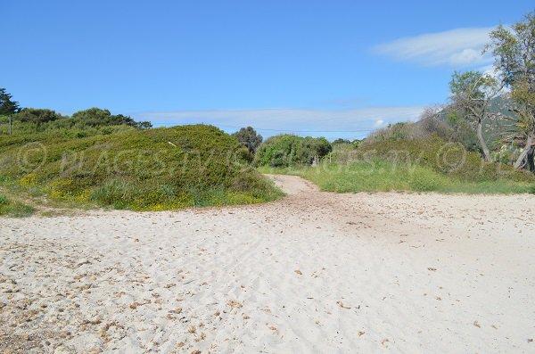 Parcheggio spiaggia di Grand Capo