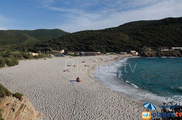 Spiaggia di Sevani - Petit Capo - Ajaccio - Corsica