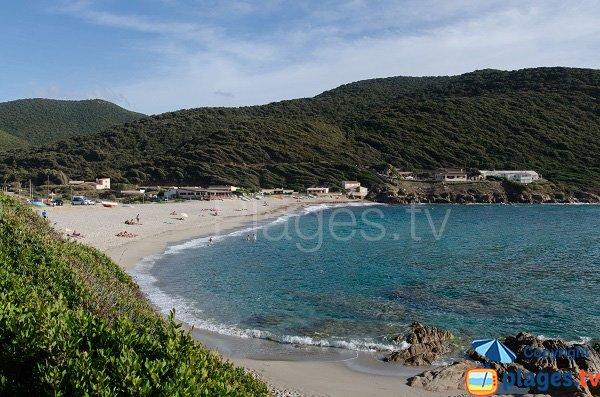 Foto spiaggia di Sevani a Ajaccio - Corsica