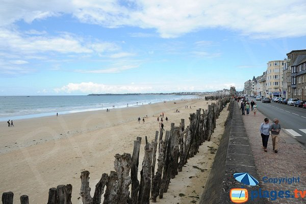 Grande Plage of Saint-Malo - Sector Sillon