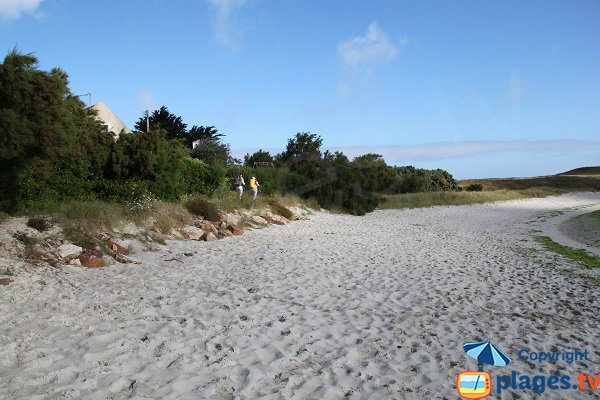 Promenade autour des plages de Guissény