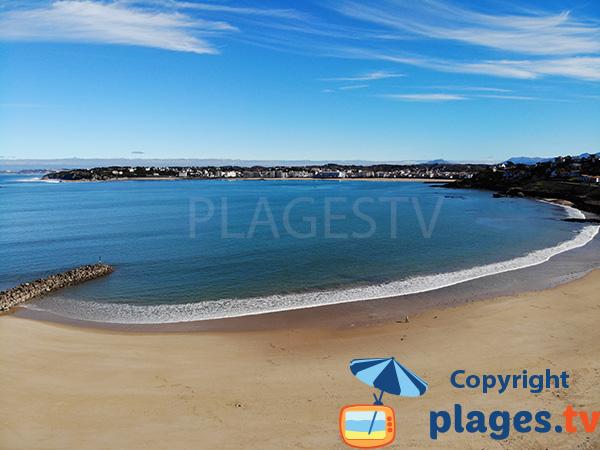 Photo de la plage de Socoa à Ciboure