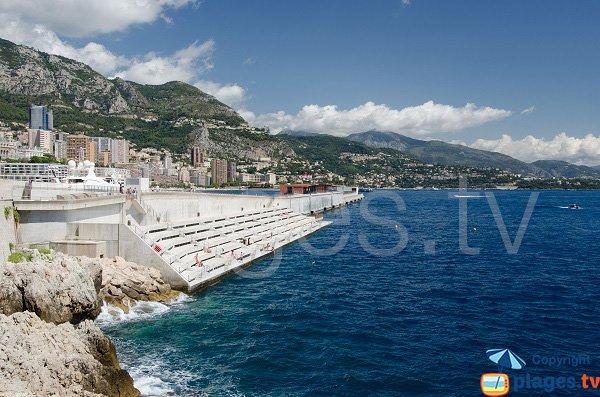 Photo of the Solarium beach in Monaco