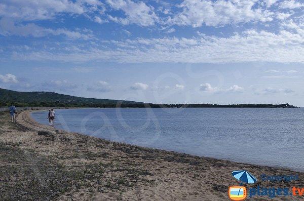 Photo de la plage de Soprane à Figari