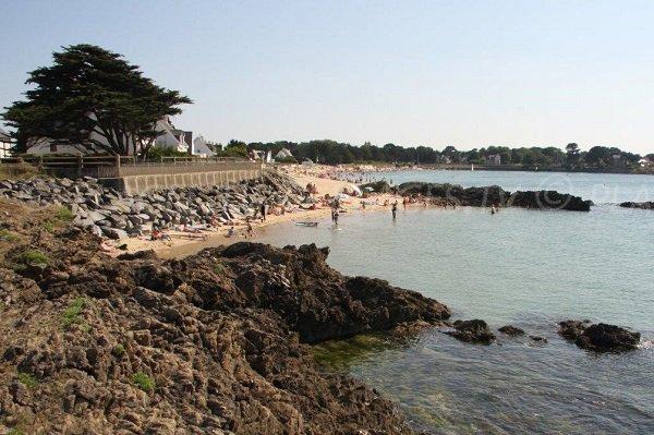 Cove of Sorlock in Mesquer in France