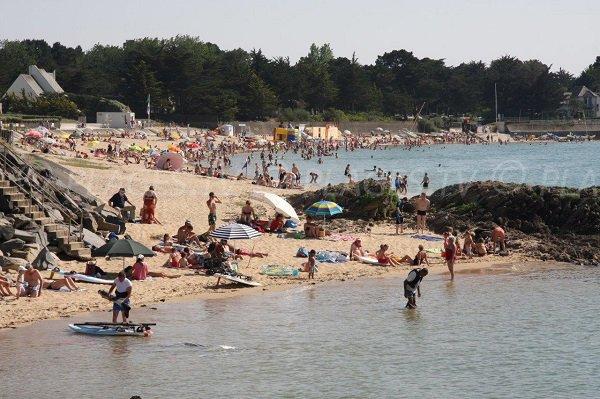 Photo of Sorlock beach and cove - Mesquer - Quimiac