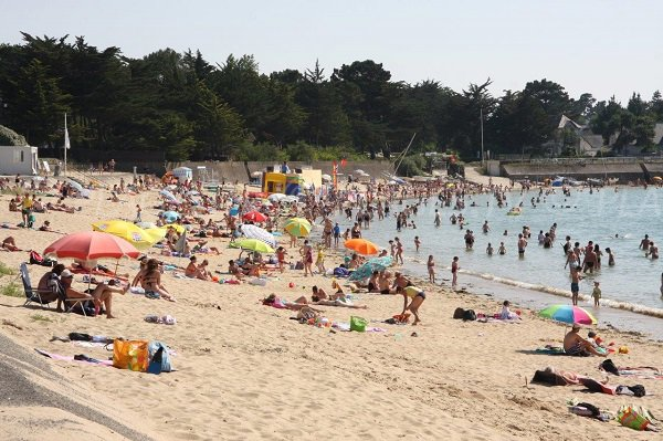 Photo of Sorlock beach in Mesquer in France