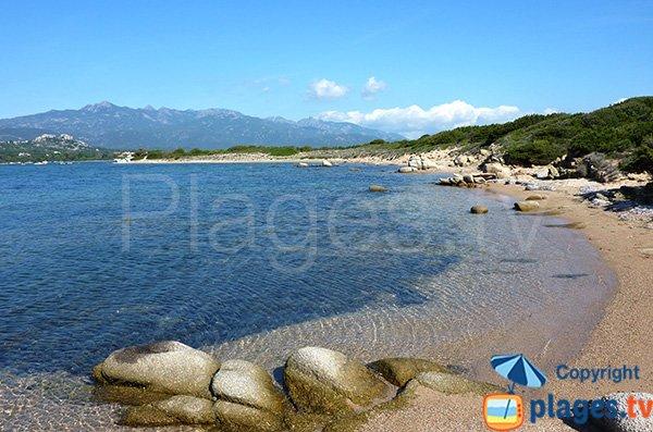 Photo de la plage de Sottane à Figari
