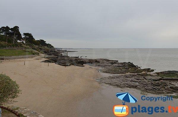 Spiaggia della Source a Pornic