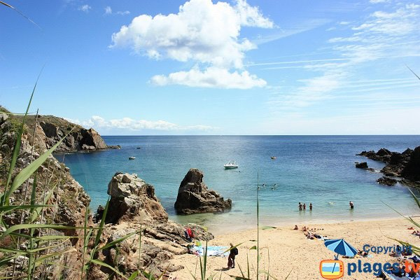 Photo of Soux beach in Ile d'Yeu in France