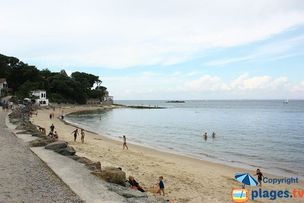 Photo de la plage des Souzeaux à Noirmoutier